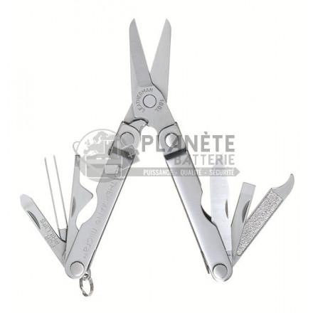 Accessoires : Pince multifonctions métal - LEATHERMAN Micra - 10 fonctions