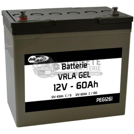 Batterie plomb étanche 12V 60.9Ah VRLA GEL