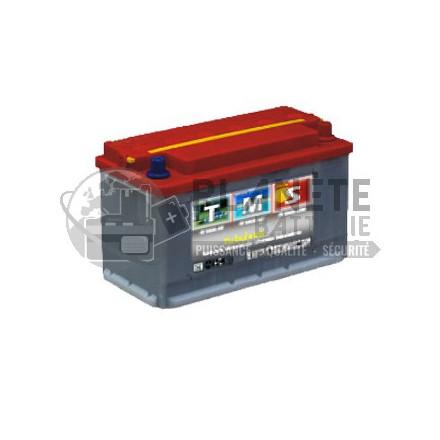 Batterie au plomb à décharge lente 12V 76Ah - semi-stationnaire à plaques tubulaires