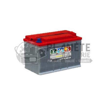 Batterie au plomb 12V 85Ah à décharge lente - semi-stationnaire à plaques tubulaires