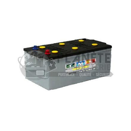 Batteries au plomb : Batterie à décharge lente 12V 180Ah - semi-stationnaire à plaques tubulaires