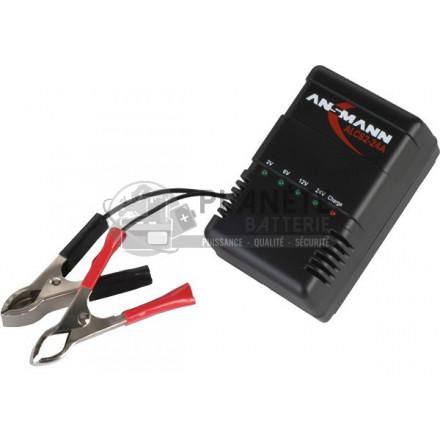 Chargeurs de batteries plomb : Chargeur batterie plomb 2-24V ? ALCS 2-24 ? ANSMANN