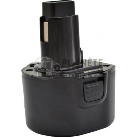 Batterie type BLACK & DECKER CD231 - 9.6V - NiMH 3Ah