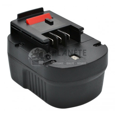 Batterie type BLACK & DECKER - A12 - 12V NiMH 3Ah