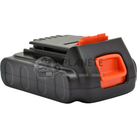 Batterie type BLACK & DECKER LBXR20 - 20V  Li-Ion 2Ah