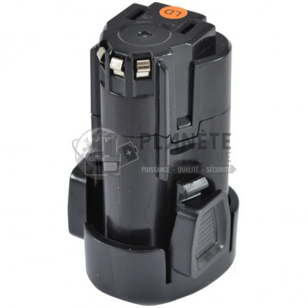 Batterie type BLACK & DECKER LBXR12 – 12V Li-Ion 2Ah