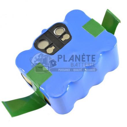 Aspirateurs et tondeuses robots : Batterie robot - 14.4V NiMH 3000mAh - Compatible aspirateurs XR210 SAMBA. Cleantouch KLARSTEIN. Eziclean