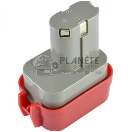 Batterie MAKITA 9100 / 9102 – 9.6V NiMH 3Ah - Outillage éléctroportatif