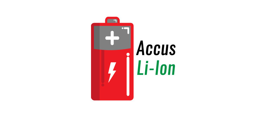 Accumulateurs : Accus Li-Ion