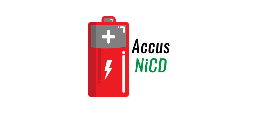 Accumulateurs : Accus NiCd